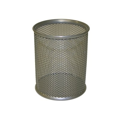 Cubilete portalápices rejilla metálico Bismark 317382