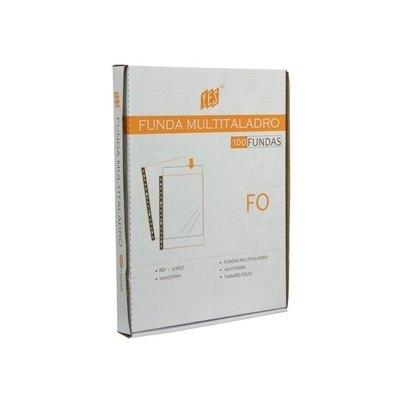 Funda catálogo multitaladro polipropileno con refuerzo Yes A4 235 x 302 mm