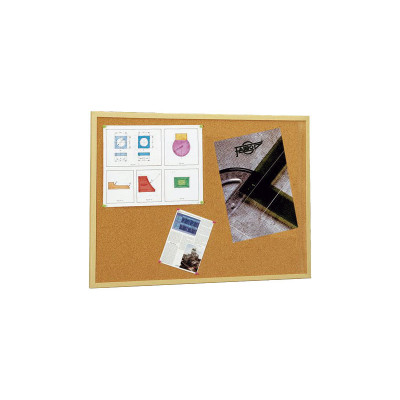 Tablero de corcho con marco de madera 607-2