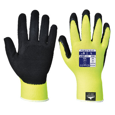Guante HiVis Grip A340YERS