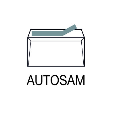 Sobres autoadhesivos 120x176mm SAM Autosam PQ10 OPEN 176
