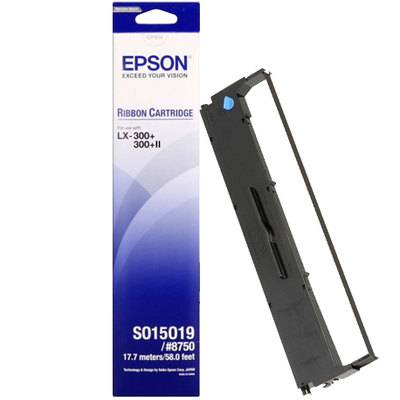 Cinta Epson MX80N/LX300 Negro C13S015637