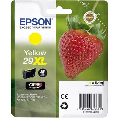 Cartucho Inkjet Epson 29XL Amarillo 450 páginas C13T29944010