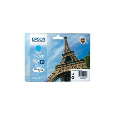 Cartucho Inkjet Epson T7022 Cian 2.000 páginas XL C13T70224010