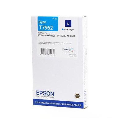 Cartucho inkjet Epson T7562 Cian 2500 páginas C13T756240