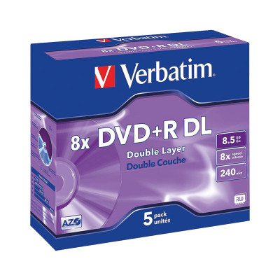 DVD+R doble capa imprimible Verbatim Double Layer 43541