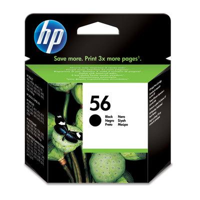 Cartucho inkjet HP 56 negro 520 páginas C6656AE