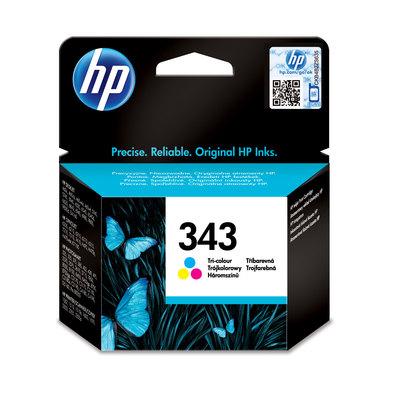 Cartucho inkjet HP 343 Tri-color 330 páginas C8766EE