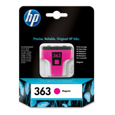 Cartucho inkjet HP 363 magenta 370 páginas C8772EE