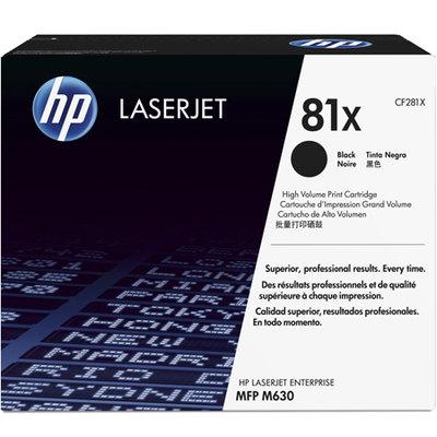 Tóner HP 81X de alta capacidad negro 25000 páginas CF281X
