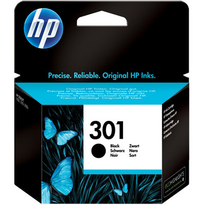 Cartucho inkjet HP 301 negro 190 páginas CH561EE