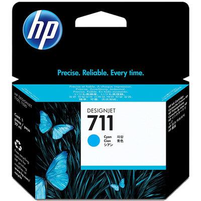 Cartucho inkjet HP 711 Cian 29 ml CZ130A