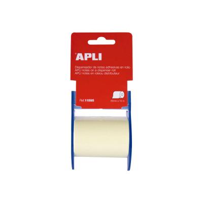 Notas adhesivas en rollo Apli 11595