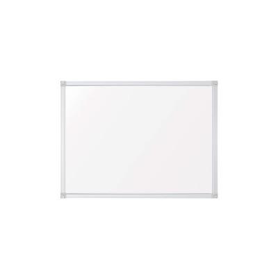 Pizarra blanca magnética acero vitrificado marco de aluminio A-Series SC3202