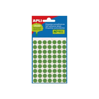 Etiquetas adhesivas Apli de  colores Bolsa 5 2066