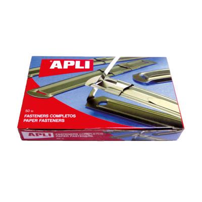 Encuadernador fástener metálico Apli 11831