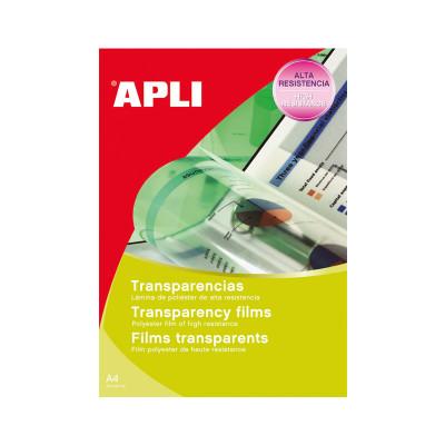 Transparencias para impresoras láser color Apli 1495
