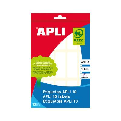 Etiquetas adhesivas manual Apli 01642