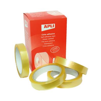 Cinta adhesiva transparente Apli 11266