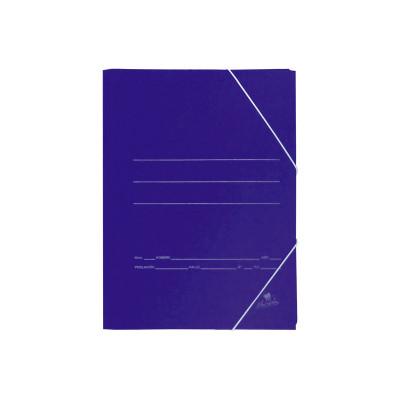 Carpeta con gomas cartón azul Mariola 1089