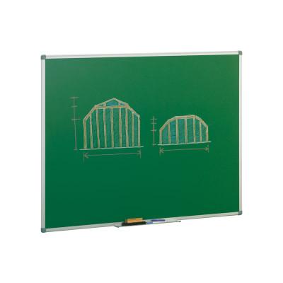 Pizarra verde estratificada marco de aluminio Faibo 11VS-7
