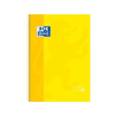 Cuaderno espiral microperforado A4 tapa extradura 80 hojas Oxford Classic 100430200