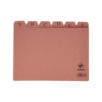Separadores abecedario para ficheros de cartón Mariola 3105