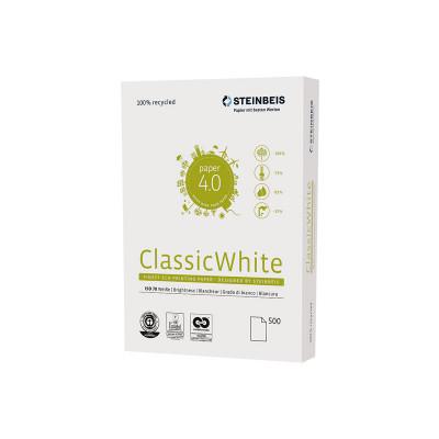 Papel Reciclado Steinbeis Classic White 80g 24801