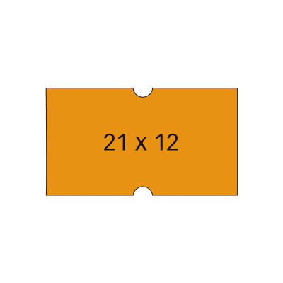 Etiquetas rectangulares para etiquetadora 1 línea Apli 100912