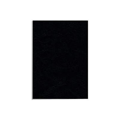 Portada de Cartón Símil Piel Delta Cuero FSC® Negro 250grs. 5370405