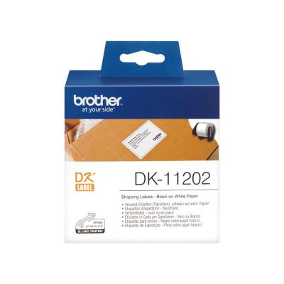 Etiquetas precortadas para impresoras Brother QL DK-11202