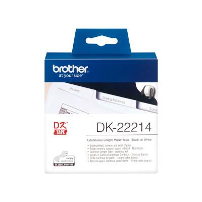 Cintas continua para impresoras de etiquetas Brother QL DK22214