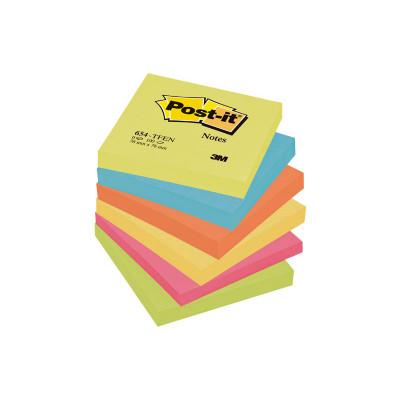 Bloc de notas adhesivas Post-it gama colores Energía 654-TFEN