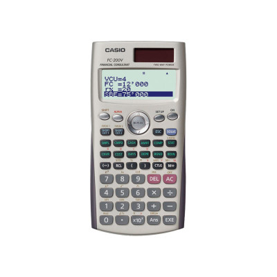 Calculadora financiera Casio FC-200V FC-200V