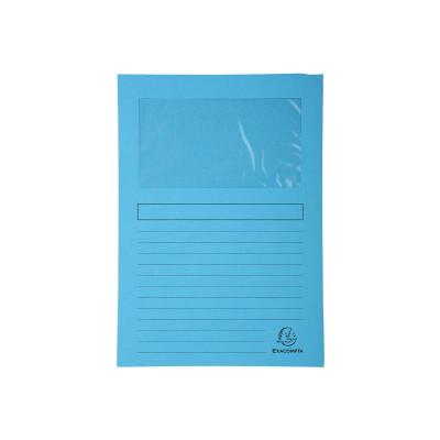 Subcarpeta cartulina A4 con ventana Exacompta 50252E