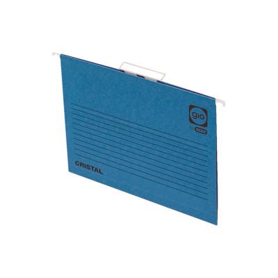 Carpeta colgante visor superior color varilla metálica lomo V Gio by Elba 400021954