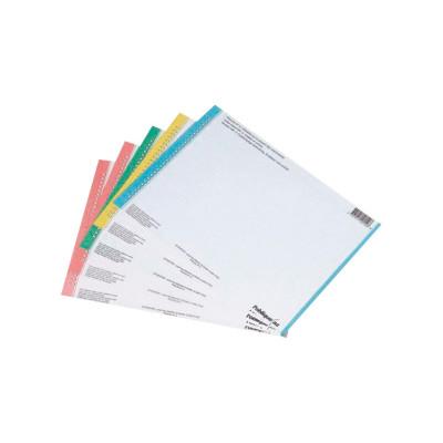 Tiras de papel para visores de carpetas colgantes Elba Print 100330201