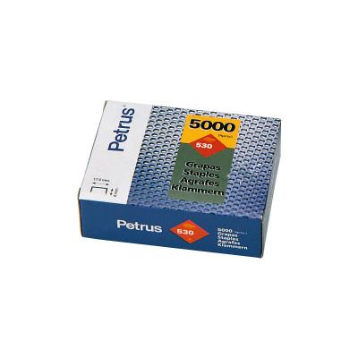 Grapas cobreadas para clavadoras Petrus 530 77507