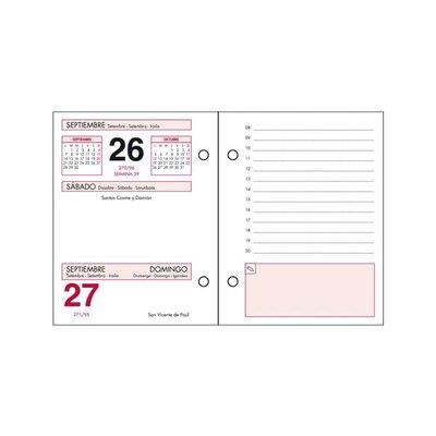 Bloque calendario sobremesa Dohe Bufete 8,5x11cm 11601