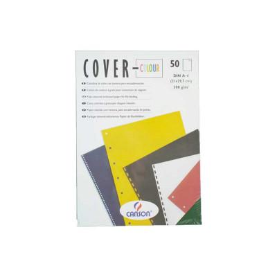 Portadas de encuadernar cartulina tela Canson Cover-color 200407514