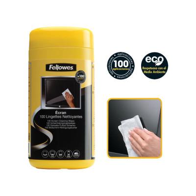 Toallitas limpiadoras pantallas Fellowes 9970330