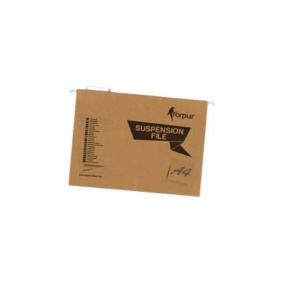 Carpeta colgante con visor superior varilla metálica Forpus FO22707