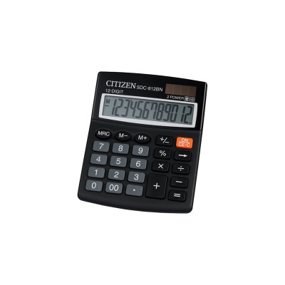 Calculadora de sobremesa 12 dígitos Citizen SDC-812BN SDC-812BN