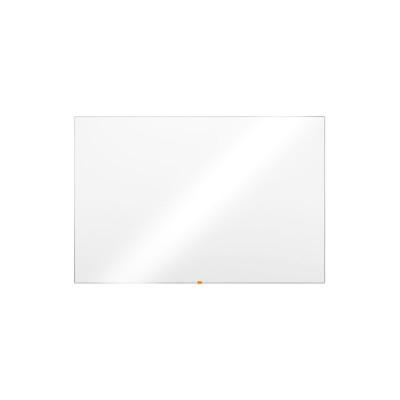 Pizarra blanca de melamina no magnética estratificada marco de aluminio Nobo Basic 1905205