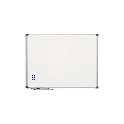 Pizarra blanca magnética acero vitrificado Planning Sisplamo 720/4