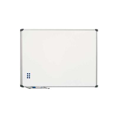 Pizarra blanca magnética acero vitrificado Planning Sisplamo 720/5