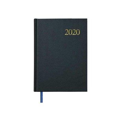 A6, vista semanal Agenda color azul Collins Blossom 2019-2020
