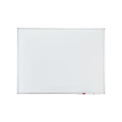 Pizarra blanca magnética acero vitrificado marco de aluminio A-Series SC3212