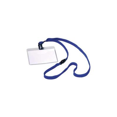 Identificador portanombres con cordón de seguridad Durable 8139-07
