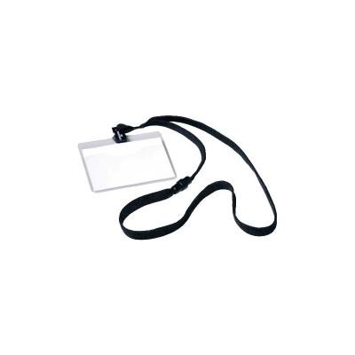 Identificador portanombres con cordón de seguridad Durable 8139-01